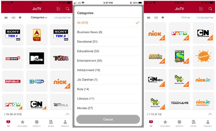Download JioTV Mod APK Latest Version Free