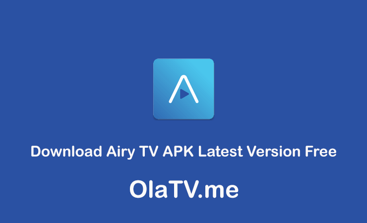 Download Airy TV APK Latest Version Free